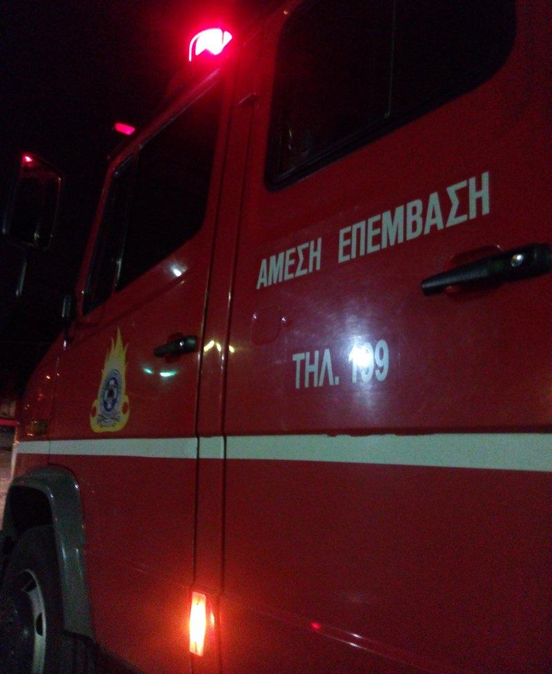 Κατεσβέσθη πυρκαγιά, πριν λίγο σε ισόγειο διαμέρισμα επί της οδού Ιερού Λόχου, στο Μαρούσι. Στο συμβάν επιχείρησαν 9 πυροσβέστες με 4 οχήματα.