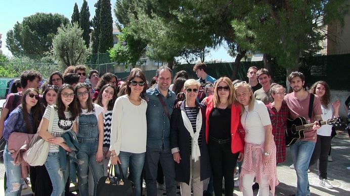 Την Τετάρτη 26 Απριλίου, η Αντιδήμαρχος Παιδείας του Δήμου Βριλησσίων κα Σοφία Χαντζάρα συμμετείχε στο πρόγραμμα αδελφοποίησης των Εκπαιδευτηρίων Καντά και του Ιταλικού Σχολείου Liceo Classico Giuseppe Stampacchia.
