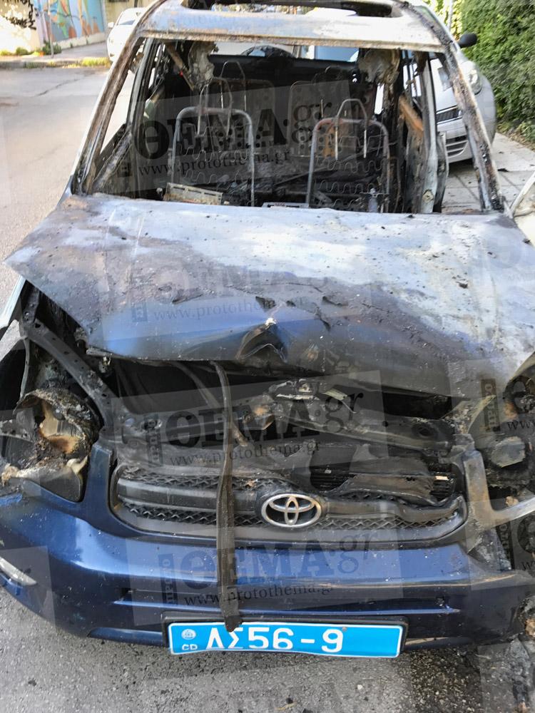 Παρανάλωμα του πυρός έγινε -  για άγνωστη αιτία - ένα αυτοκίνητο με διπλωματικές πινακίδες  χθες το βράδυ, το οποίο ανήκει στην πρεσβεία της Αρμενίας.