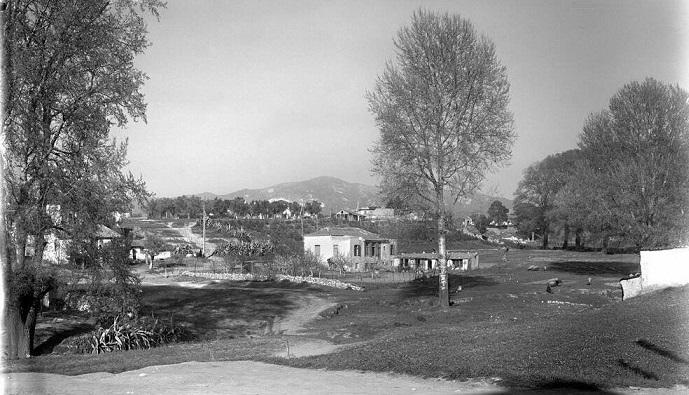 Μια εικόνα από το Χαλάνδρι του 1940.