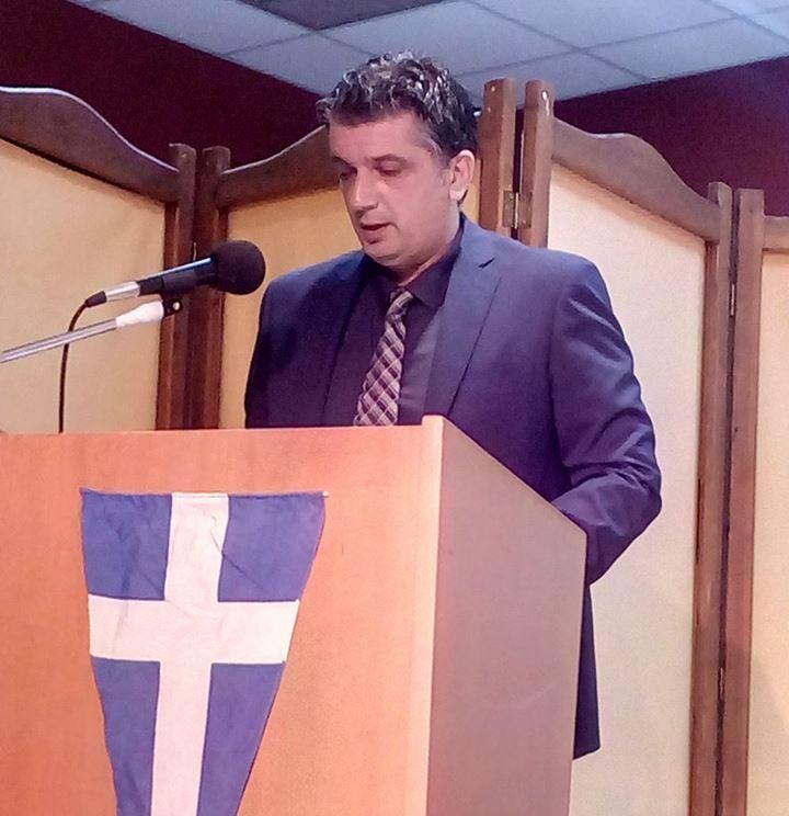 Μήνυμα για την επέτειο της 25ης Μαρτίου απηύθυνε ο Δήμαρχος Βριλησσίων, Ξένος Μανιατογιάννης: