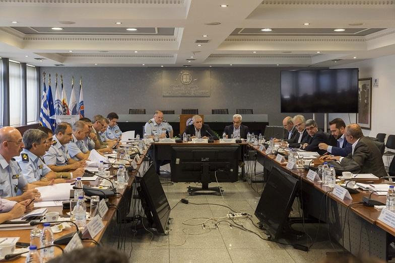 Συνάντηση με τους Δημάρχους του Βόρειου Τομέα της Αθήνας είχε την Τετάρτη 27 Ιουνίου, ο Αναπληρωτής Υπουργός Προστασίας του Πολίτη Νίκος Τόσκας, με θέμα την ασφάλεια και αστυνόμευση των περιοχών.