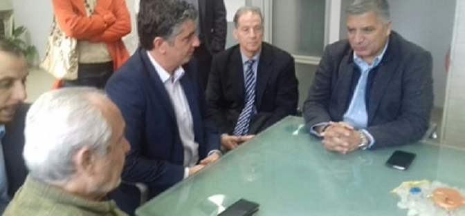 Την Παρασκευή 7 Δεκεμβρίου 2018 πραγματοποιήθηκε επίσημη επίσκεψη του Προέδρου της ΚΕΔΕ, Δημάρχου Αμαρουσίου και υποψήφιου για την Περιφέρεια Αττικής Γιώργου Πατούλη στον Δήμαρχο Βριλησσίων Ξένο Μανιατογιάννη.