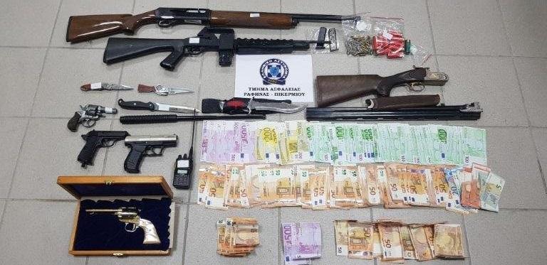 Εξαρθρώθηκε, από το Τμήμα Ασφαλείας Ραφήνας-Πικερμίου σε συνεργασία με την Υποδιεύθυνση Ασφαλείας Βορειοανατολικής Αττικής, εγκληματική ομάδα τα μέλη της οποίας διέπρατταν διακεκριμένες κλοπές και ληστείες σε διάφορες περιοχές της Αττικής.