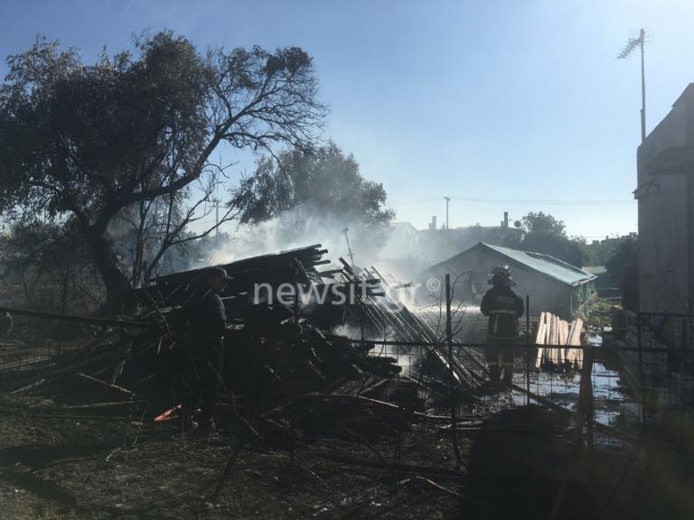 Λίγο μετά τις 2.00 το μεσημέρι σήμερα εκδηλώθηκε πυρκαγιά σε οικόπεδο στην Κηφισιά.