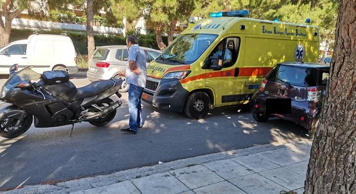 Τροχαίο ατύχημα σήμερα το πρωί, Τετάρτη 17 Ιουνίου στα Βριλήσσια.
