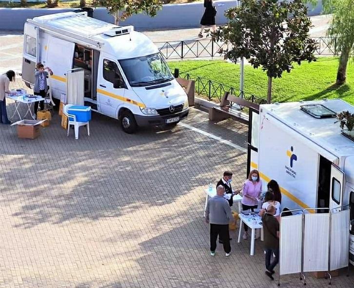 Δωρεάν τεστ ταχείας ανίχνευσης (rapid tests) κρουσμάτων κορονοϊού σε πολίτες θα πραγματοποιηθούν με κινητές μονάδες, αύριο #Σάββατο 31 Οκτωβρίου και #Κυριακή 1η Νοεμβρίου 2020, ώρες 10:00 – 15:00, στο Μαρούσι, στην πλατεία Ευτέρπης – Ηλεκτρικό Σταθμό ΗΣΑΠ, στο πλαίσιο ευρύτερων δειγματοληπτικών ελέγχων από τον Εθνικό Οργανισμό Δημόσιας Υγείας (ΕΟΔΥ).
