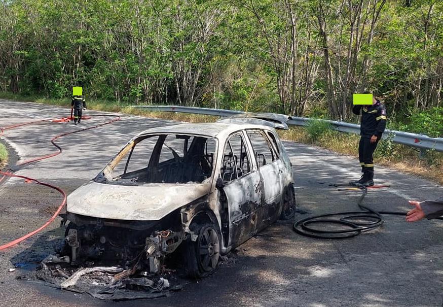 Πυρκαγιά εκδηλώθηκε σήμερα, Δευτέρα 17/05/2021 στις 3:30 το μεσημέρι στο Διόνυσο.